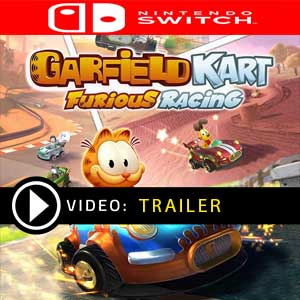 Garfield Kart Furious Racing Nintendo Switch Prices Digital or Box Edition