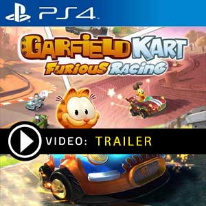 Garfield Kart Furious Racing PS4 Prices Digital or Box Edition