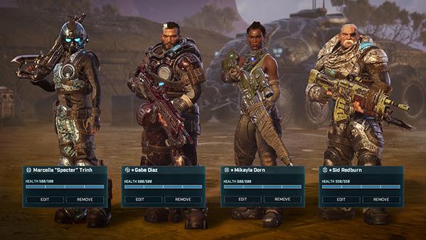 Gears Tactics Main Characters