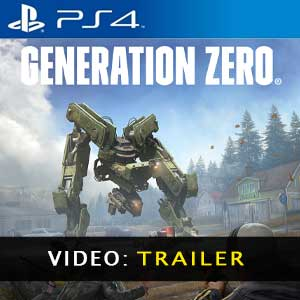 Generation Zero PS4 Video Trailer