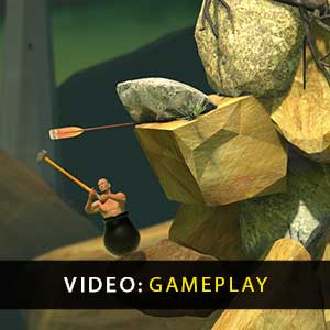 Getting Over It with Bennett Foddy Gameplay Video