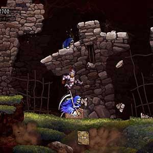 Ghosts n Goblins Resurrection Skeleton Murderer