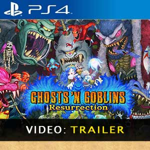 Ghosts n Goblins Resurrection PS4 Video Trailer