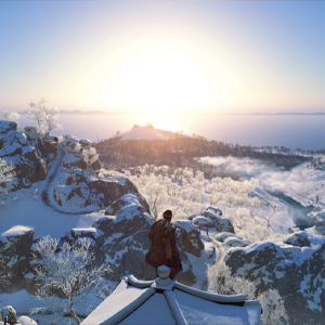 Ghost of Tsushima Snowy Mountains