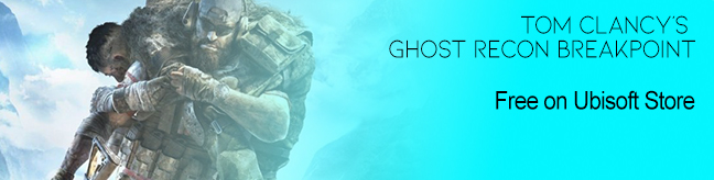 Tom Clancy's Ghost Recon Breakpoint free on Ubisoft