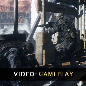 Ghost Recon Future Soldier Video Gameplay