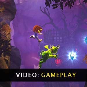 Giana Sisters Twisted Dreams Director's Cut Gameplay Video