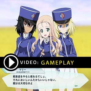 Girls und Panzer Dream Tank Match DX Nintendo Switch Gameplay Video