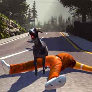 Goat Simulator - After Performing a Flip