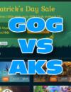 GOG St. Patrick's Day Sale VS AllKeyShop Prices
