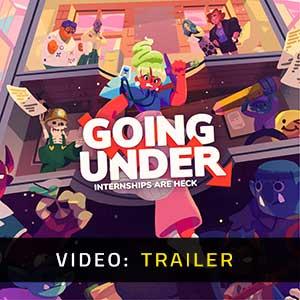 Going Under Video Trailer