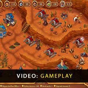 Golden Rails Tales of the Wild West Gameplay Video