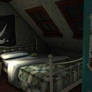 Gone Home Bedroom