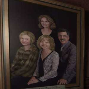 Gone Home Family Picture
