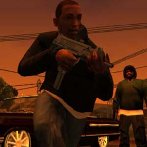 Grand Theft Auto San Andreas - Gun