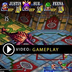 GRANDIA HD Remaster Gameplay Video