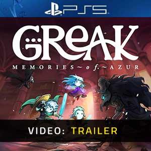 Greak Memories of Azur PS5 Video Trailer