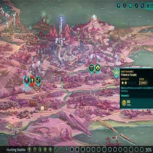 Griftlands - Map Overview