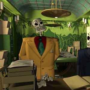 Grim Fandango Remastered Screenshot: Department of Death Office