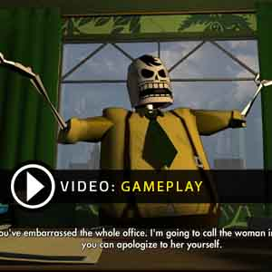 Grim Fandango Remastered Gameplay Video