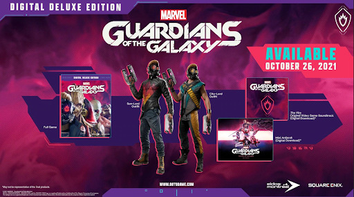 buy Marvel's Guardians of the Galaxy digital deluxe edition key
