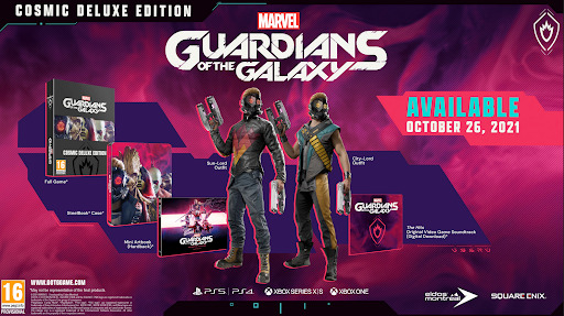 when does Marvel's Guardians of the Galaxy release?