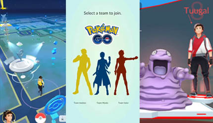 gym battles Pokémon Go