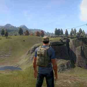 H1Z1 Screenshot: An open world environment