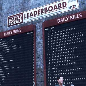 H1Z1 King of the Kill LeaderBoard