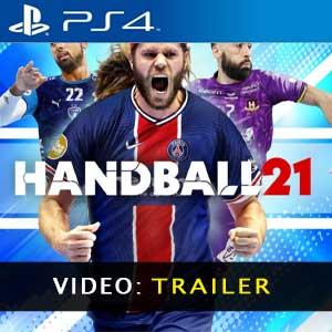 Handball 21 PS4 Video Trailer