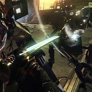Hard Reset Cyber-Katana Weapon
