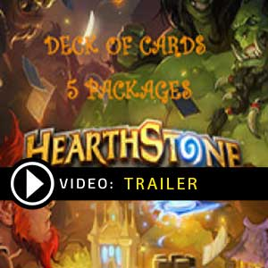 Buy Hearthstone Deck Of Cards Pack 5 GameCard Code Compare Prices