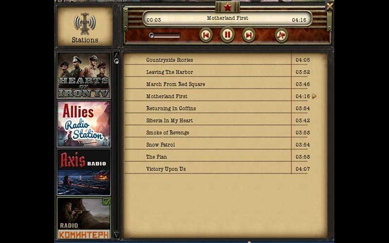 Hearts of Iron 4 Radio Pack
