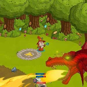 Red dragon enemy