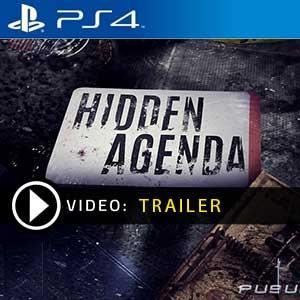 Hidden Agenda PS4 Prices Digital or Box Edition