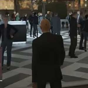 Hitman PS4 Lounge