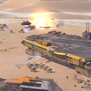 Dying desert planet of Kharak