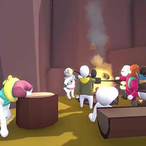 Human Fall Flat - Campfire