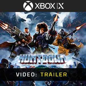Huntdown XBox Series Video Trailer
