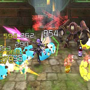 Hyperdimension Neptunia U Action Unleashed Fight