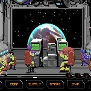 fight robot space pirates