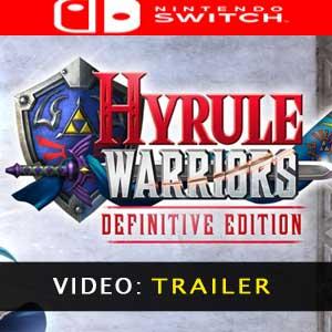 Hyrule Warriors Definitive Edition trailer video