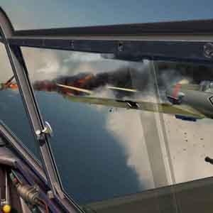 IL 2 Sturmovik Battle of Stalingrad: Fighter Jet Going Down!