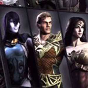 Injustice Gods Among Us - Character Selection