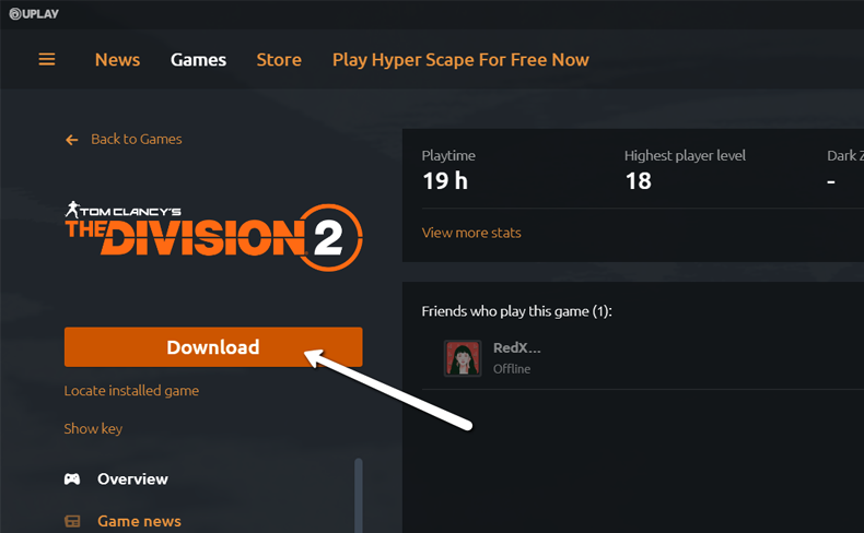 Uplay Download game