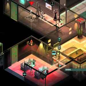 Invisible, Inc. - Access the Server Room