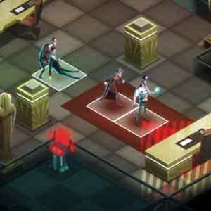 Invisible Inc. - Office infiltrated