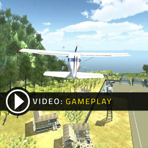 Island Flight Simulator Gameplay Video
