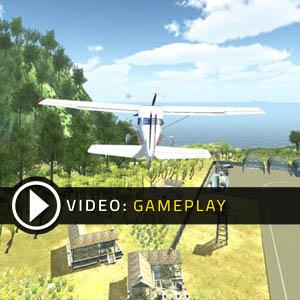 Island Flight Simulator Gameplay Video