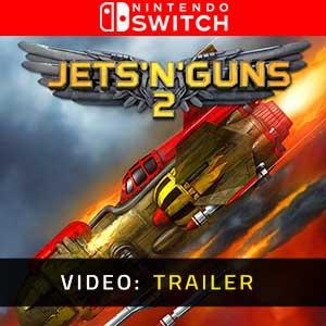Jets n Guns 2 Nintendo Switch Video Trailer